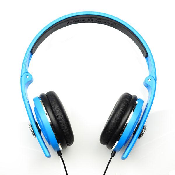 Angle Amp Curve Carboncans Lite Headphones Scuba Blue